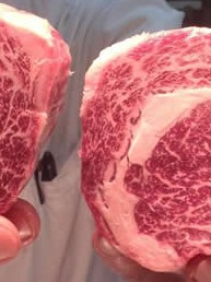 Chef Baker at Little Hunter with Robbins Island wagyu beef