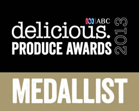 delicious Produce Awards 2013 - Medallist.